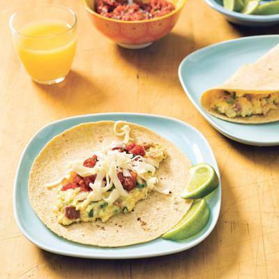 Breakfast tacos are perfect start to the morning