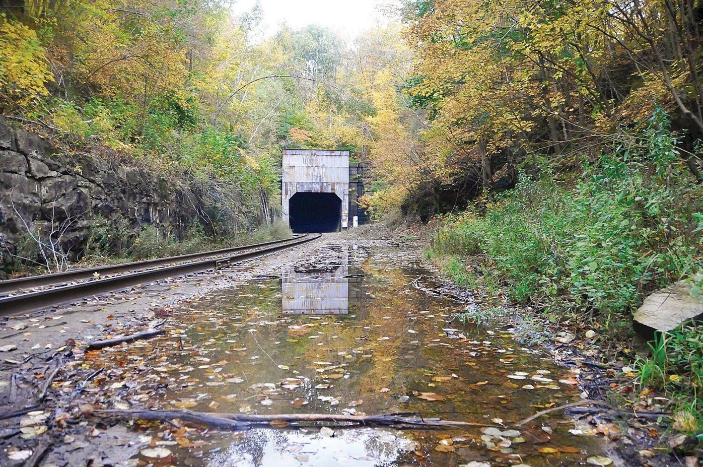 Partial wall collapse temporarily shutters Hoosac Tunnel