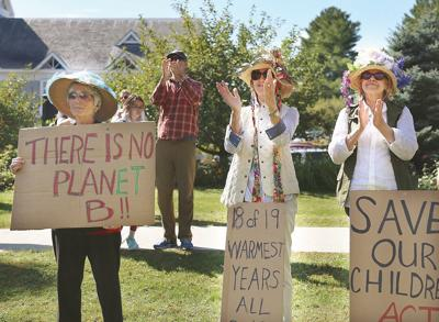 Protesters demand action on climate change