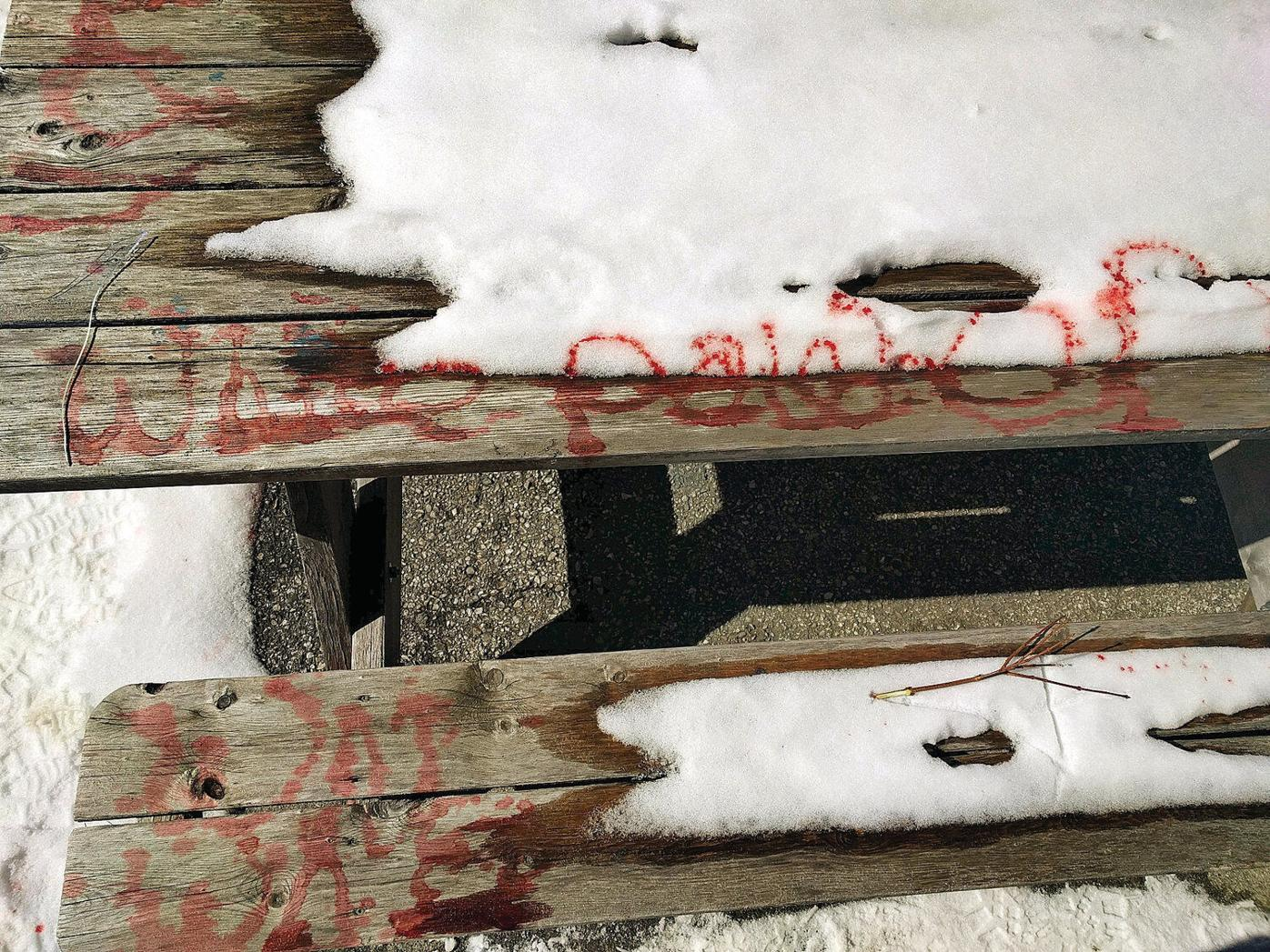 Vandalism, racist graffiti hit Oldcastle