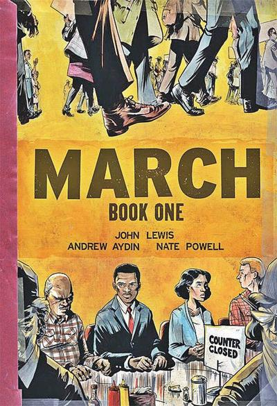 Michael Epstein | BookMarks: Vermont reads John Lewis's 'March'