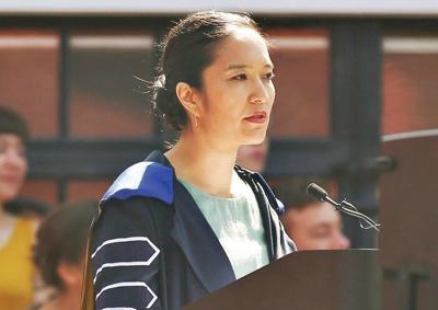 Bennington College president stepping down