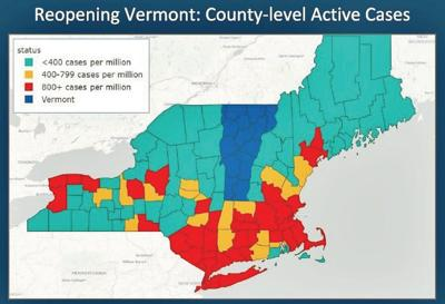 Vermont relaxes dining, travel restrictions