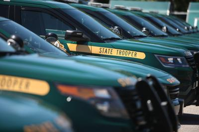 Vermont State Police cruisers (2018)