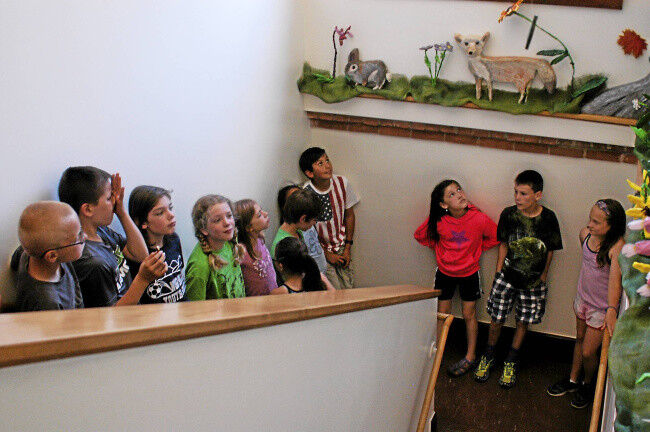 'Biodome' project brightens up Village School