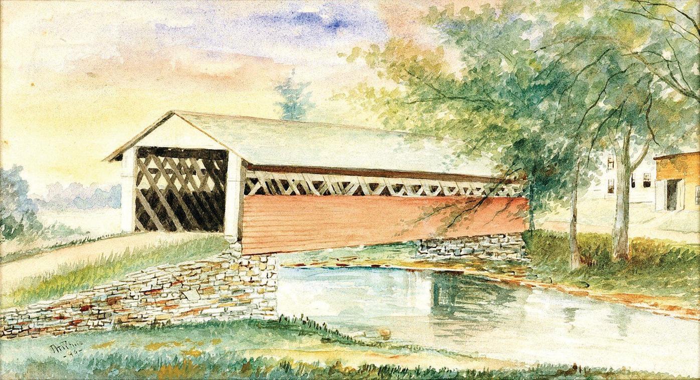 Inside Bennington Museum's collection: Old Bridge across the Waloomsac