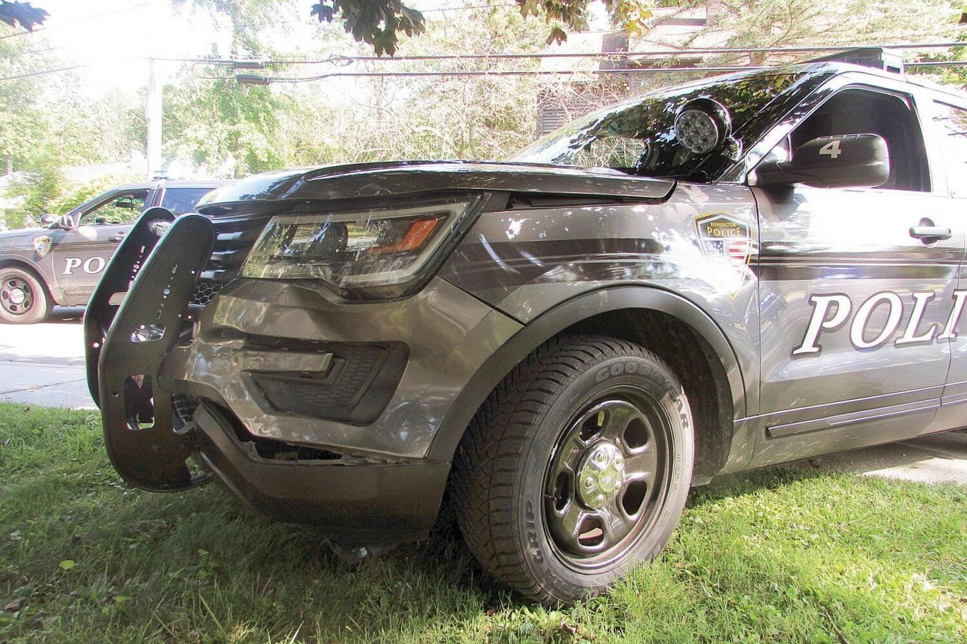 Police: Cruiser 'rammed' by fleeing suspect (copy)