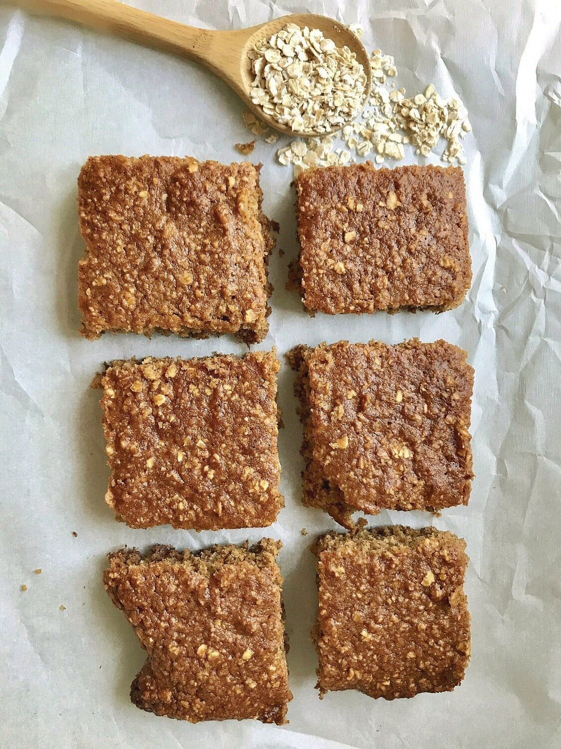 Don't have time for breakfast? Oatmeal bars perfect for busy mornings