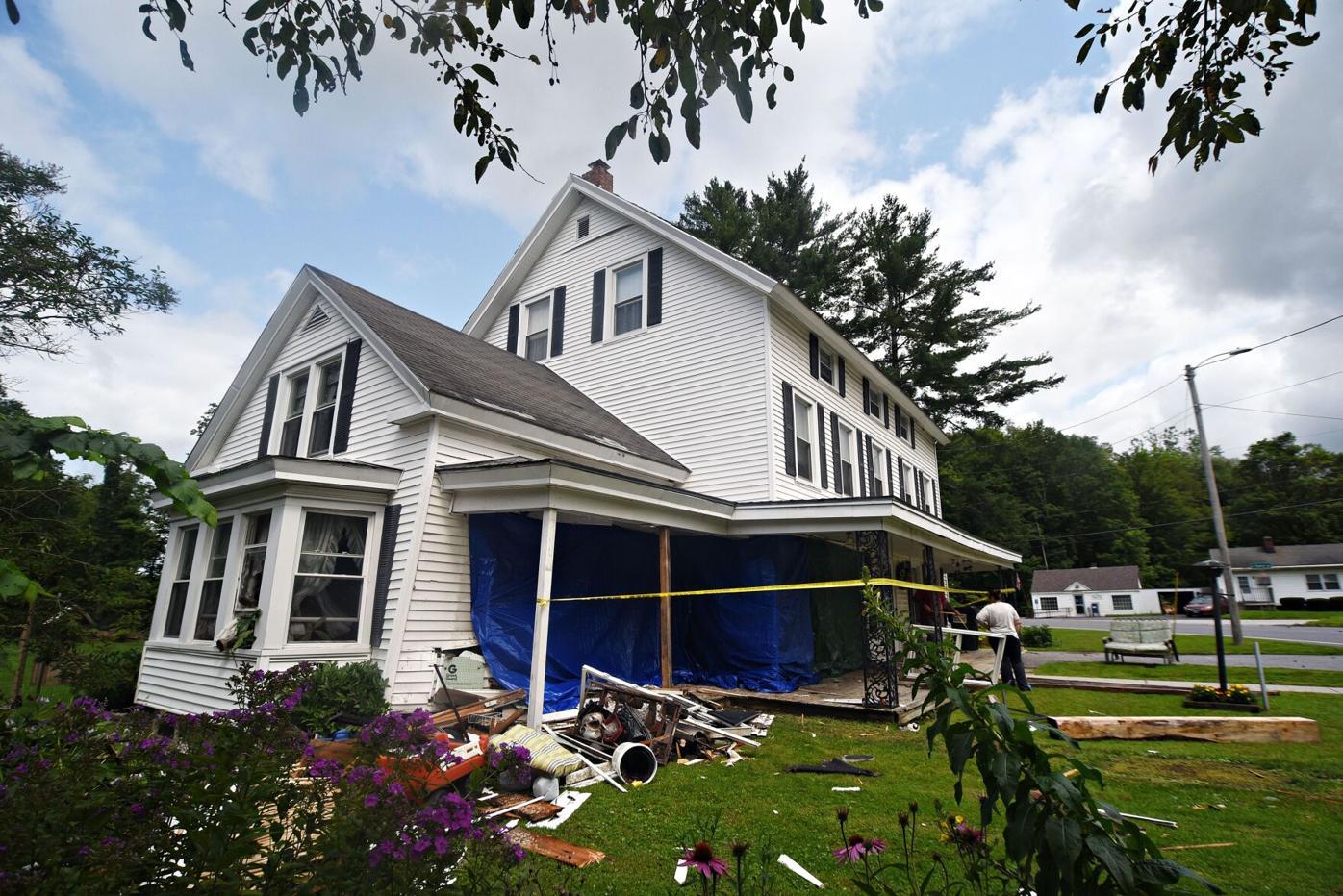 house car crash