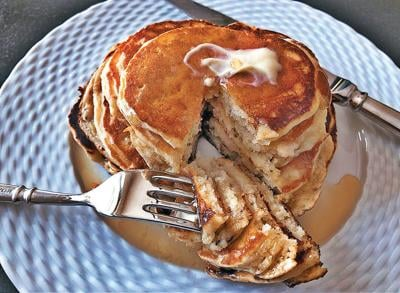 Create better pancakes with over-ripe bananas