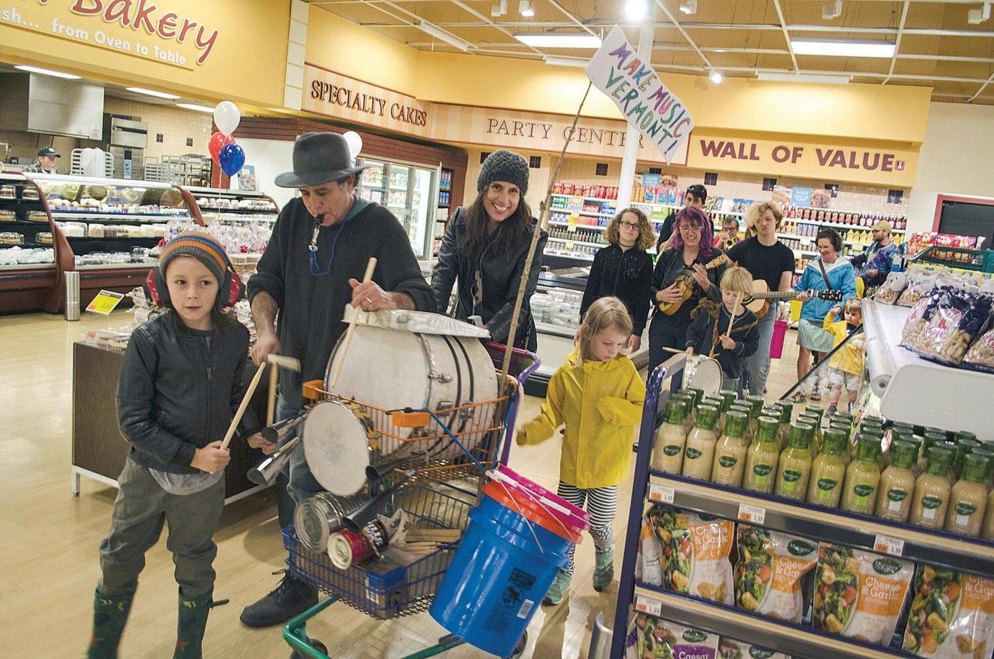 Revelers celebrate Make Music day in Bennington