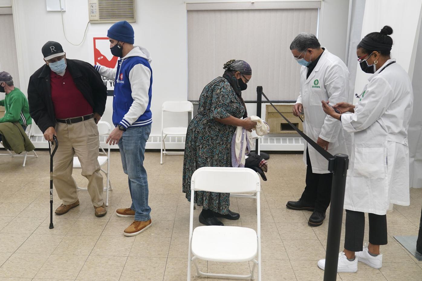 Virus Outbreak Latinos Vaccinations