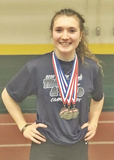 Rebecca Crosier named Vermont's Gatorade Track & Field Athlete of the Year
