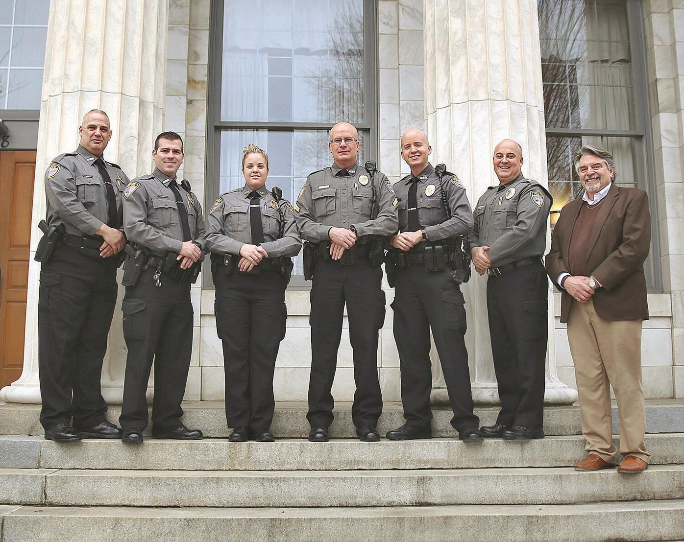 Bennington Police Department promotes four