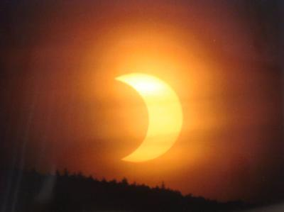 A view of the eclipse