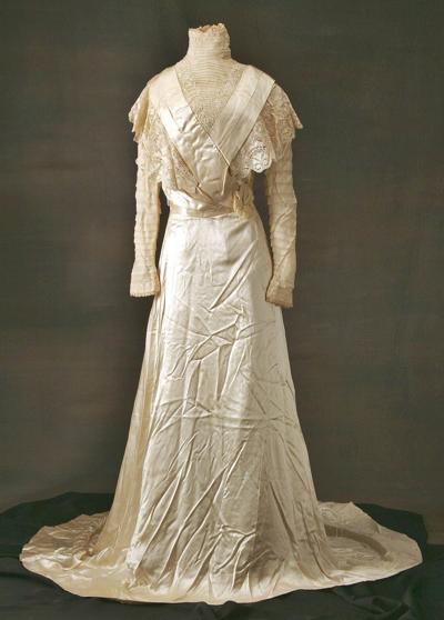 Inside Bennington Museum's collection: Wedding Dress