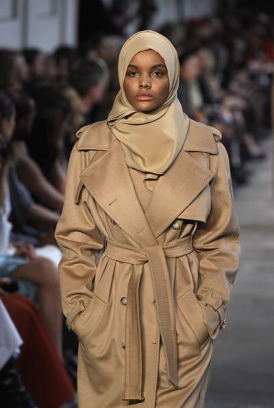 Italy Muslim Model