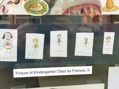 Safe distancing school art exhibit opens in North Bennington