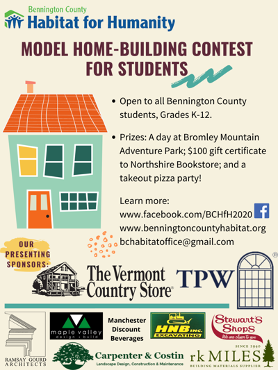 Model Home-Building Contest for Students