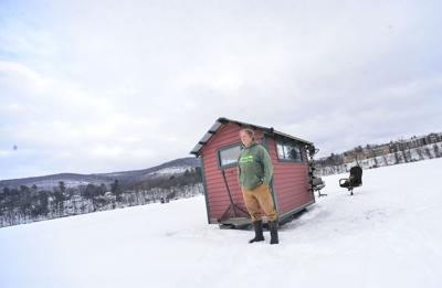 Not just a shack: The art of ice fishing
