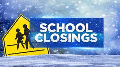 School Closing Graphic