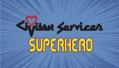 Superhero Walk Logo