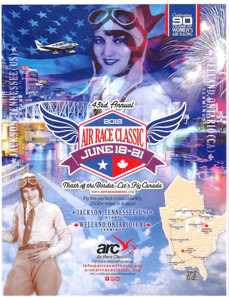 Air Race Classic flyer