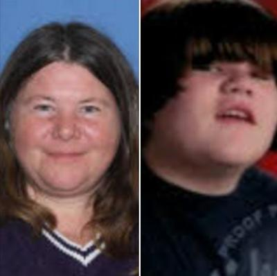 Missing Mom and Son