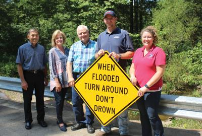 Haskell flooding sign