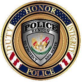 Benton PD logo