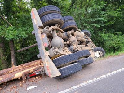 Logging accident