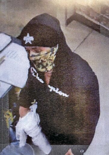 Big Red Robbery Suspect