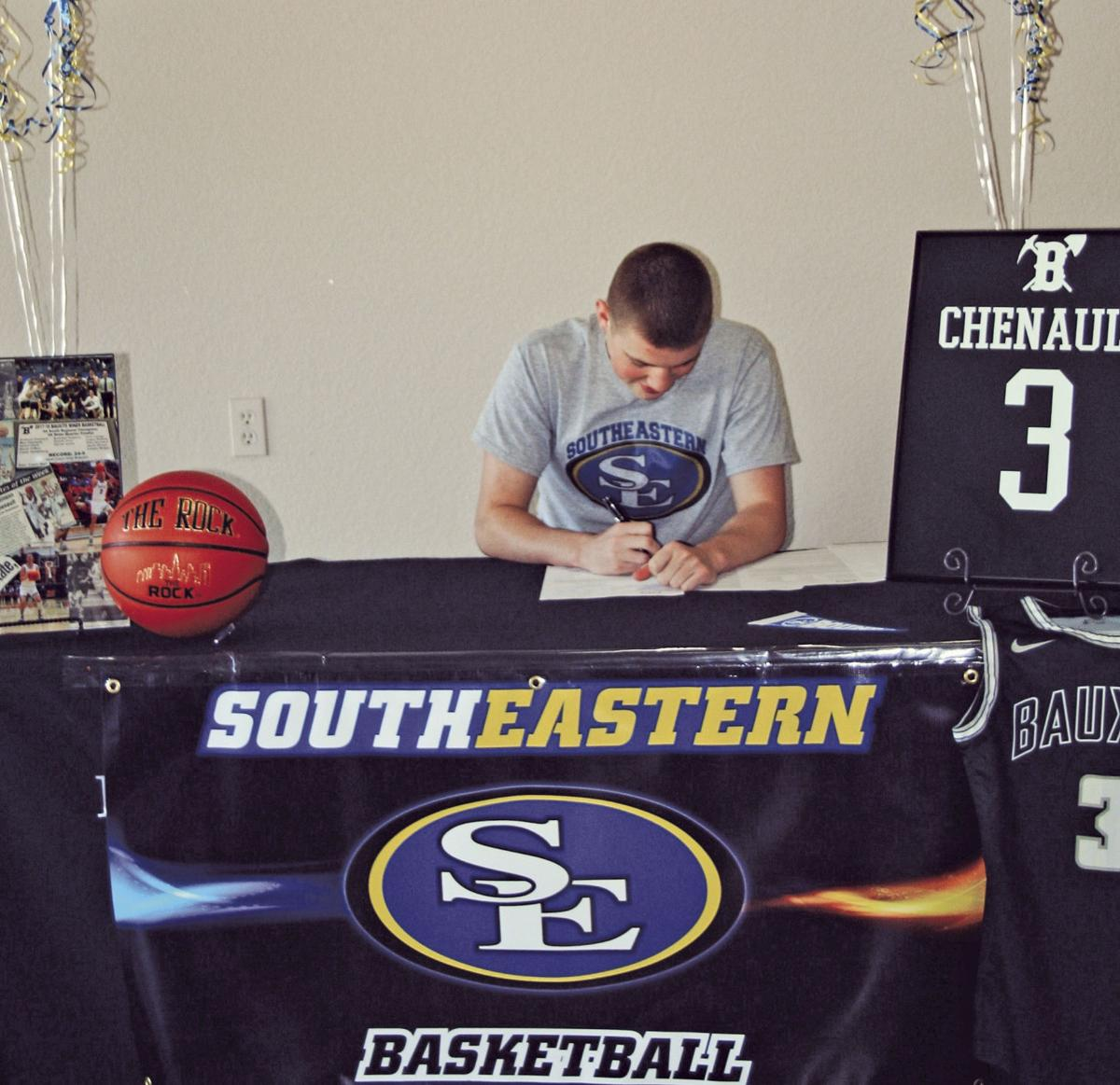 MAX CHENAULT SIGNING