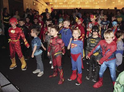 Superhero Dance