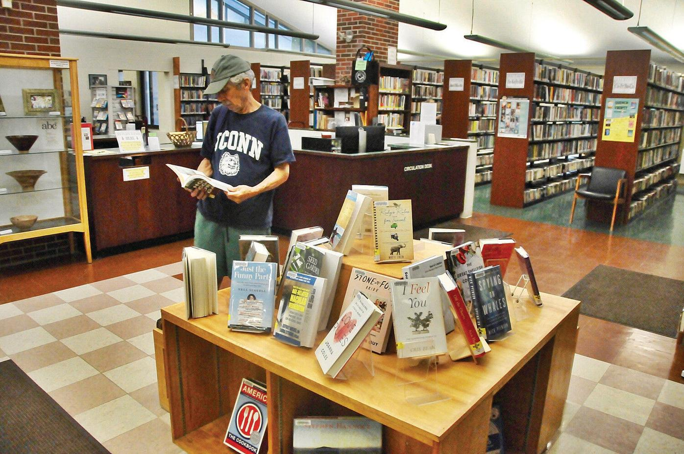 David & Joyce Milne Public Library in Williamstown readies $250K upgrade to lobby, circulation desk