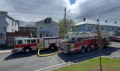 Fourth Street fire photo 1