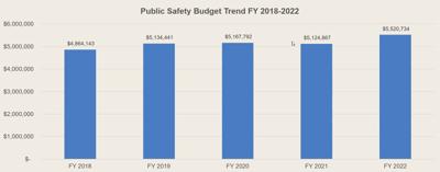 Pub Safety Budget