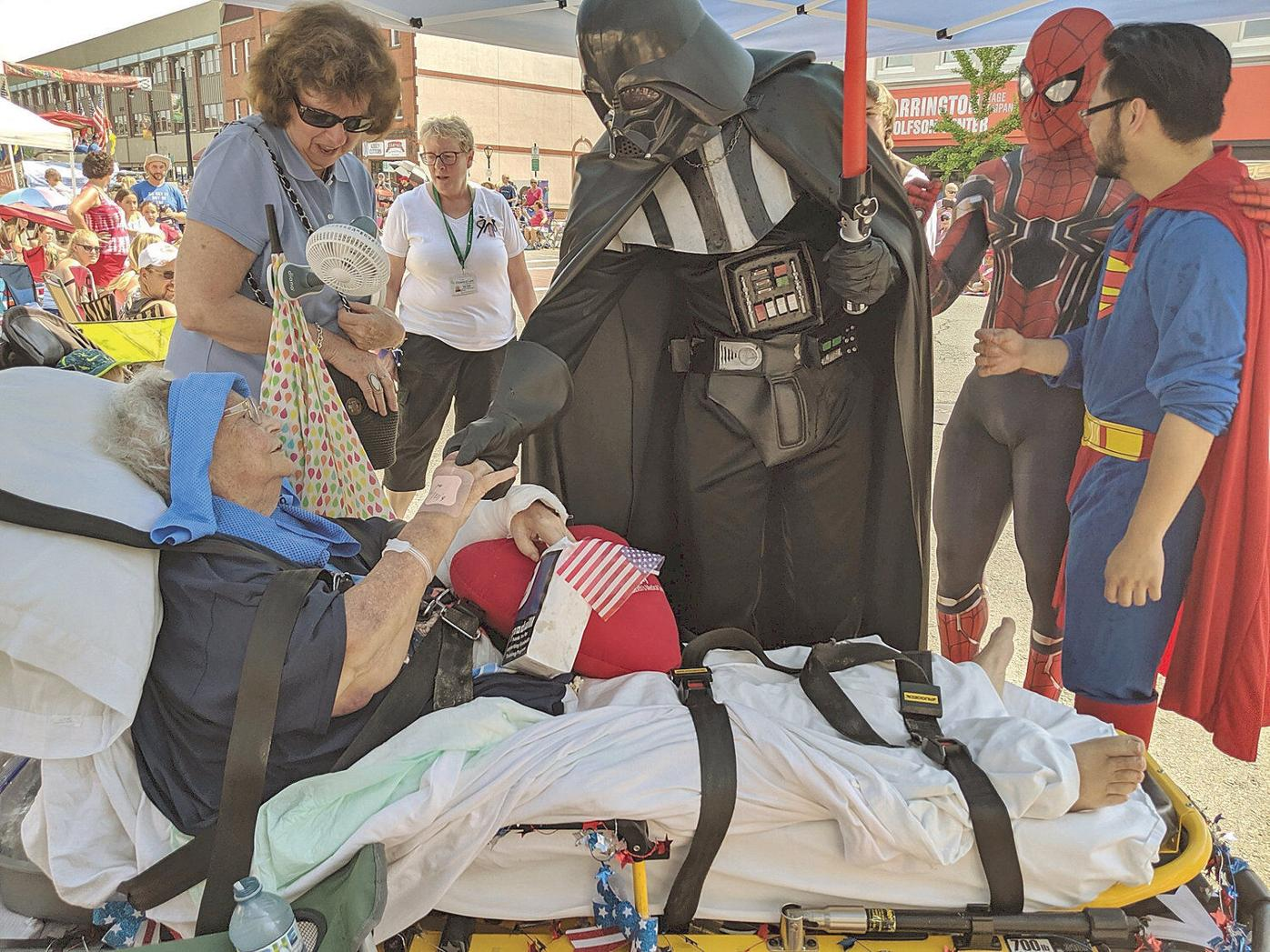 Dying woman gets wish to watch Pittsfield parade where she met her husband decades earlier