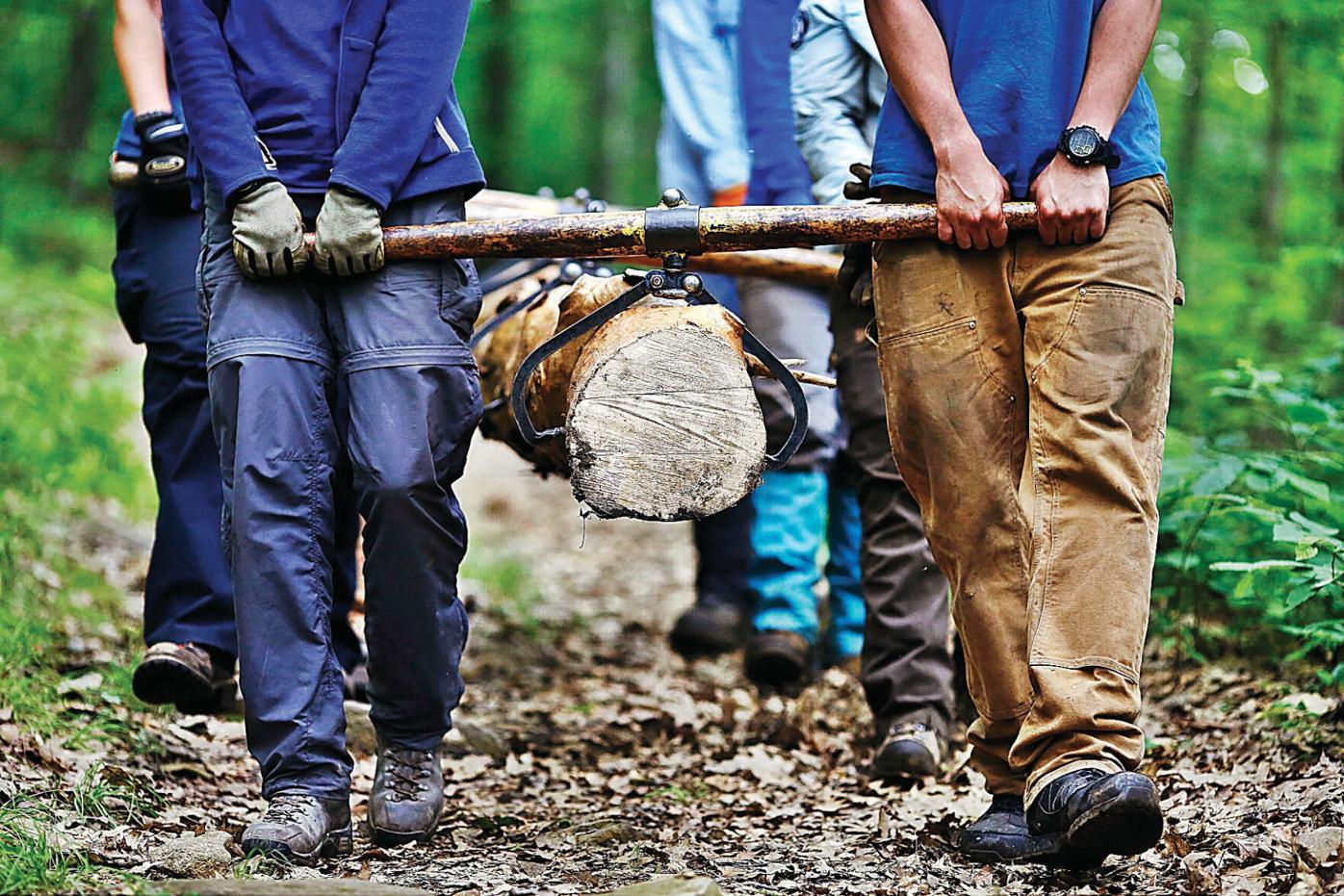 Return to Beartown: Americorps volunteers rebuilding Wildcat Lodge