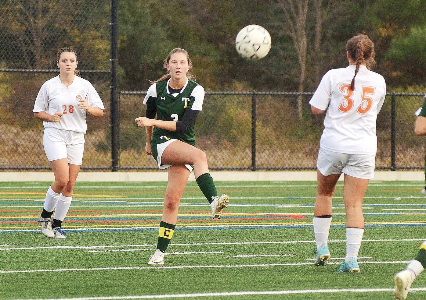 Maloney, Brown power Lee girls soccer team to win over Taconic (copy)