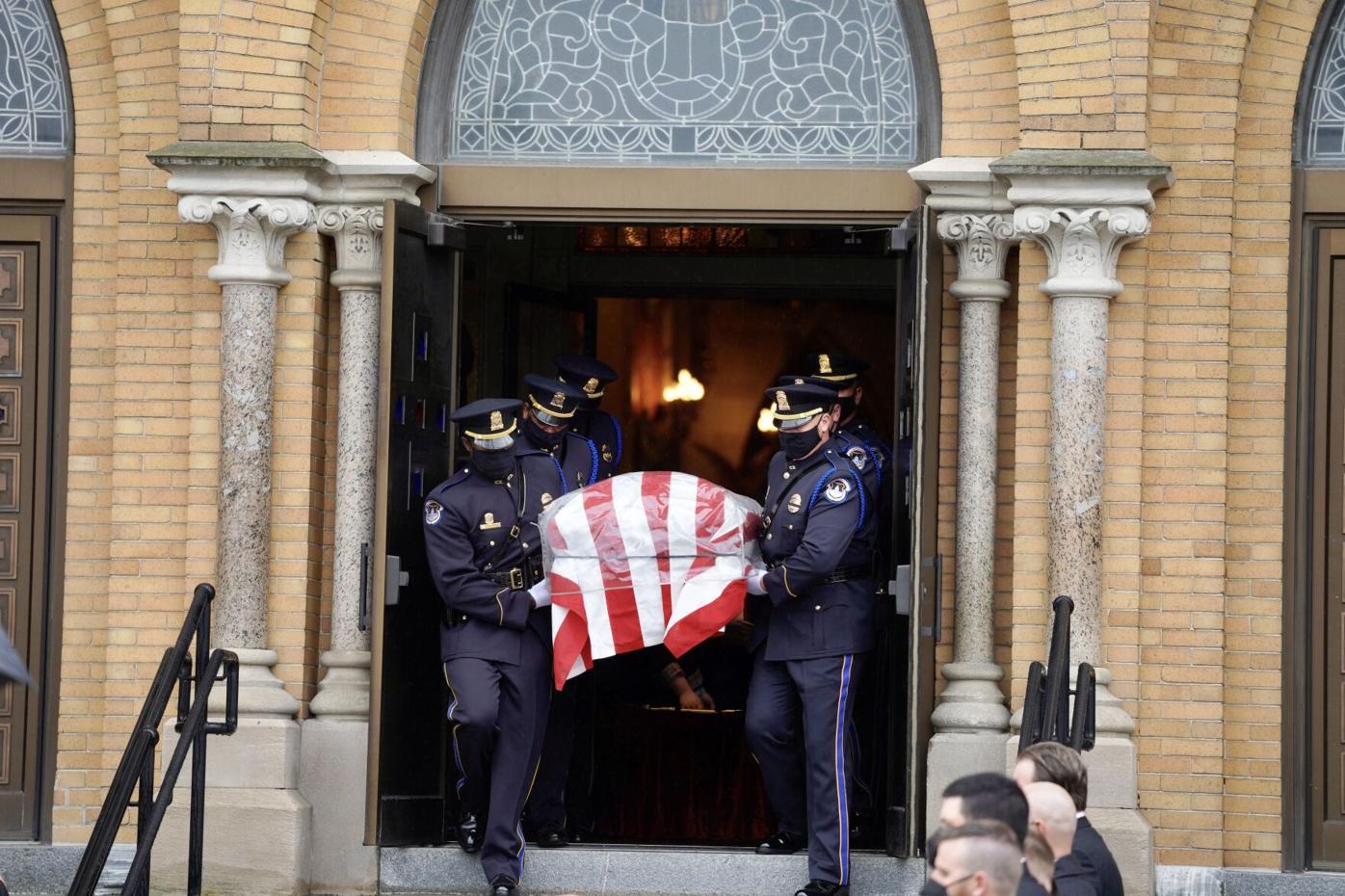 Evans casket