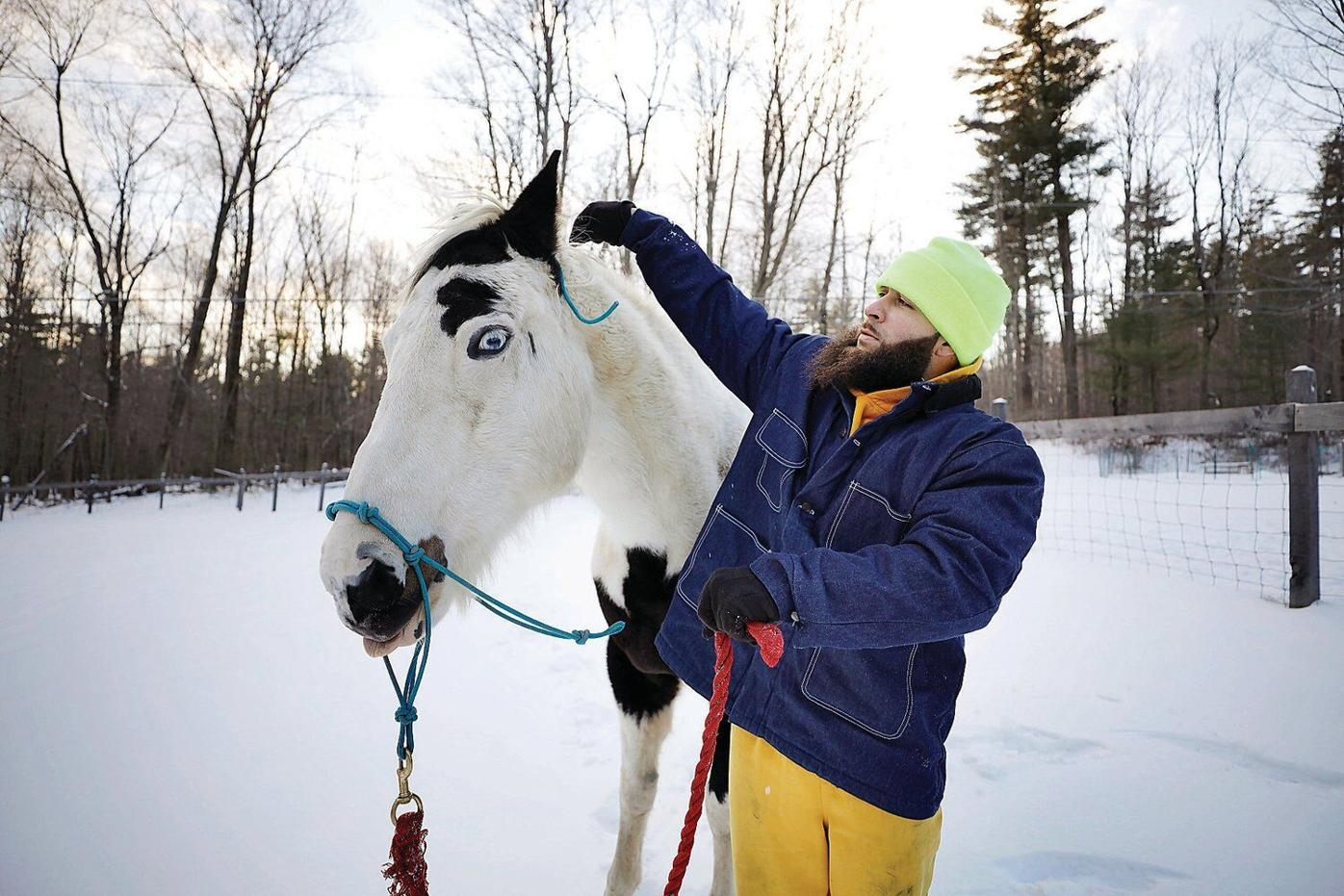 Horses at Richmond ranch help strengthen inmates who are facing release