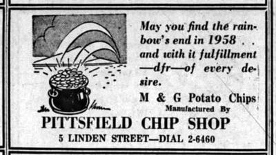 Jim Shulman | Baby Boomer Memories: Linden Street's popular potato chip company