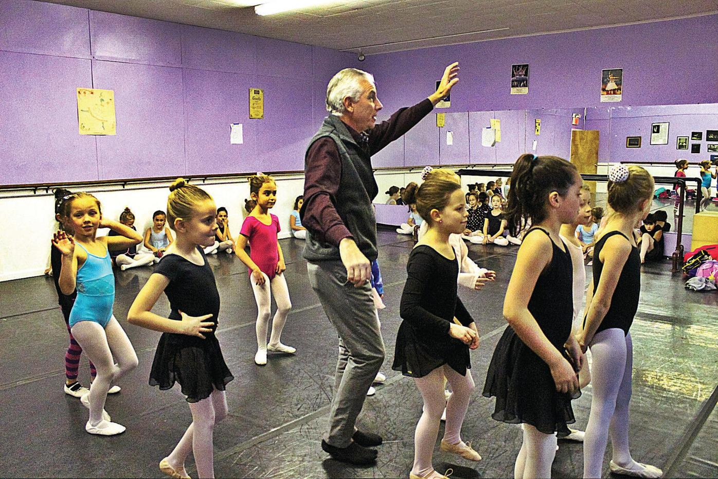 An unlikely, yet dedicated, Mother Ginger in 'The Nutcracker'