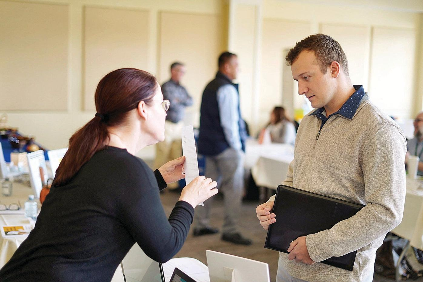 At job fair in Pittsfield, veterans get quality time with prospective employers