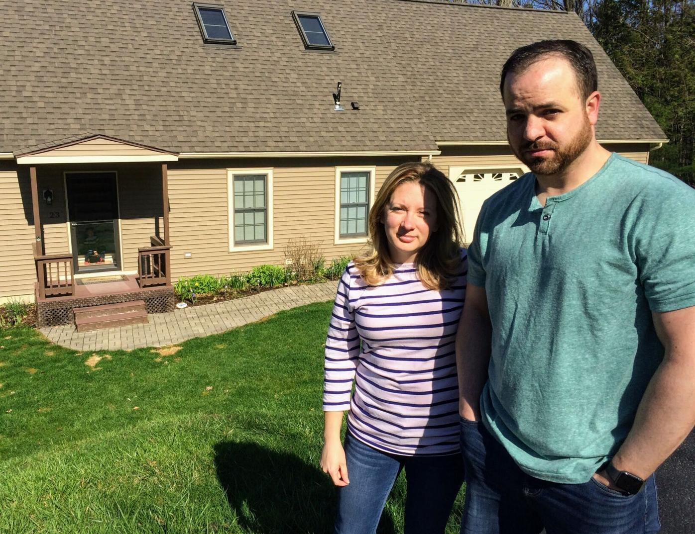 Paul and Diana Dalton at their Alma Street home in Pittsfield