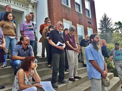 Otis State Forest pipeline protesters make a plea for the planet during court hearings