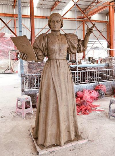 Susan B. Anthony statue headed for Adams in time for suffragette's 200th birthday