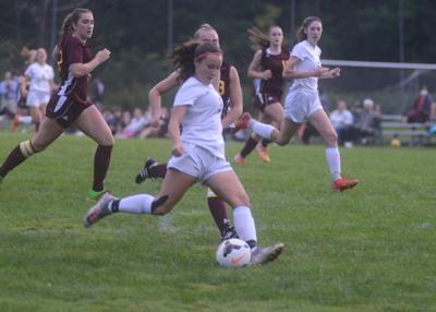 Abby Kinne fires a shot