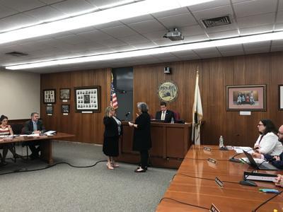 Lisa Hall Blackmer sworn in as VP